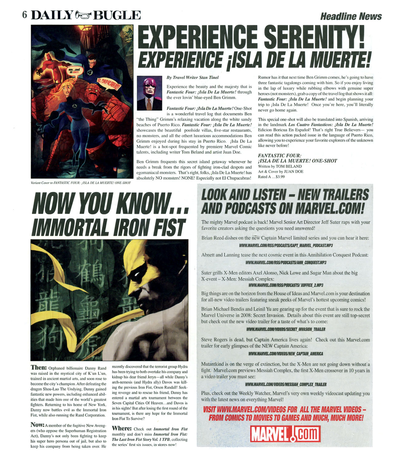 Read online Daily Bugle (2006) comic -  Issue #15 - 7