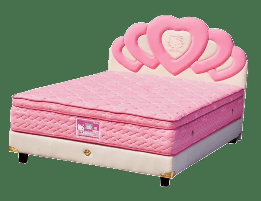 Harga Spring Bed Bigland Hello Kitty Plus Top Latex di Purwokerto