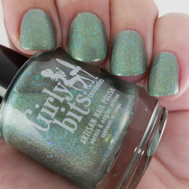 girly bits, cotm, sage, colour of the month, indie nail polish, indie polish