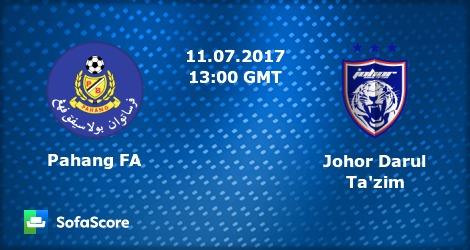 Live Streaming Pahang vs JDT LIga Super 11 Julai 2017