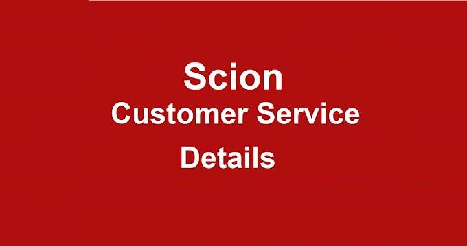 Scion Customer Service Number 2020