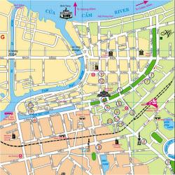 Mappa di Haiphong