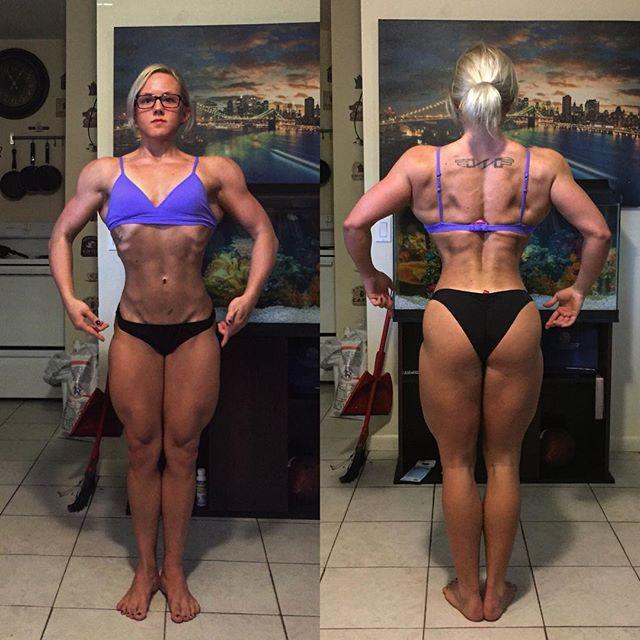 Female Bodybuilding Rachael Frieza Instagram photos