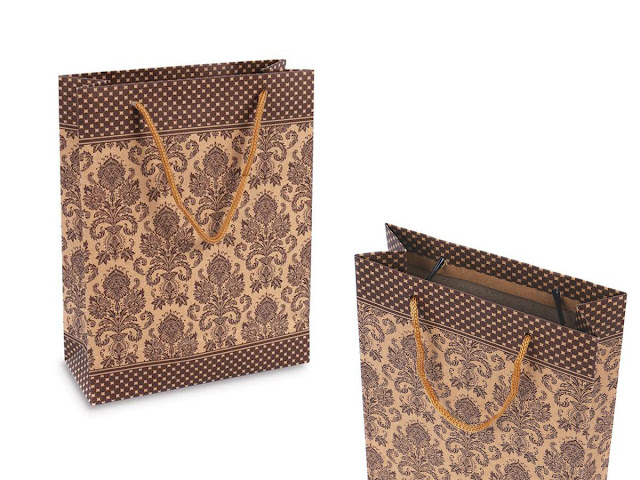 Shop Wholesale XY55912 Kraft Paper Gift Bags