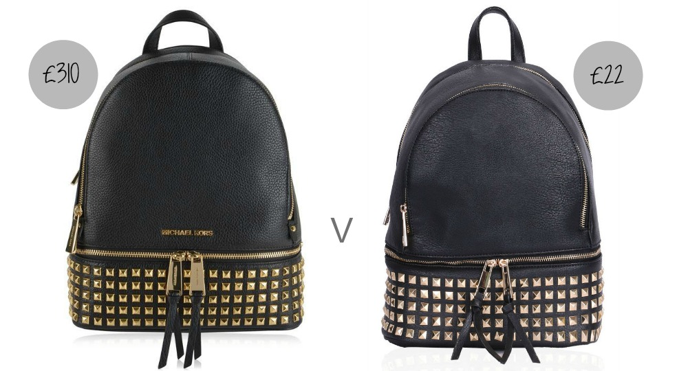 The Studded backpack - Michael Kors or Dupe