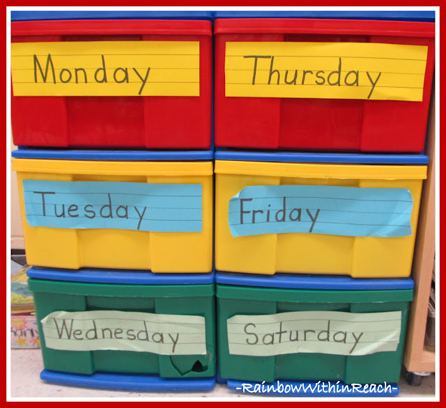 photo of: Daily Organization in Classroom