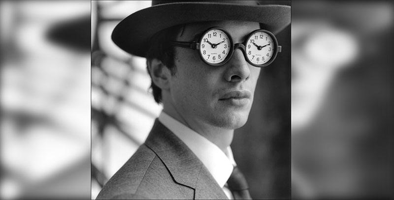 человек с часами вместо глаз | стартап ньюс