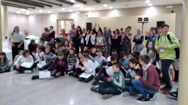 Αποστολή του Δημοτικού Σχολείου Παλαγίας Αλεξανδρούπολης στη Ματέρα της Ιταλίας