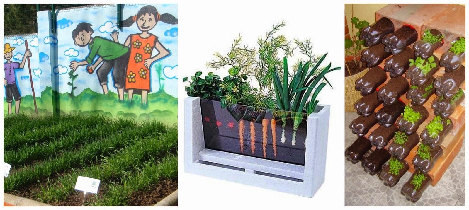 Recursos actividades y materiales sobre la naturaleza for Actividades en el jardin