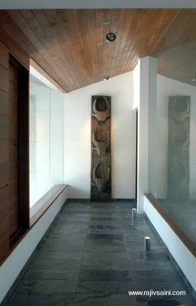 Detalle de arquitectura moderna