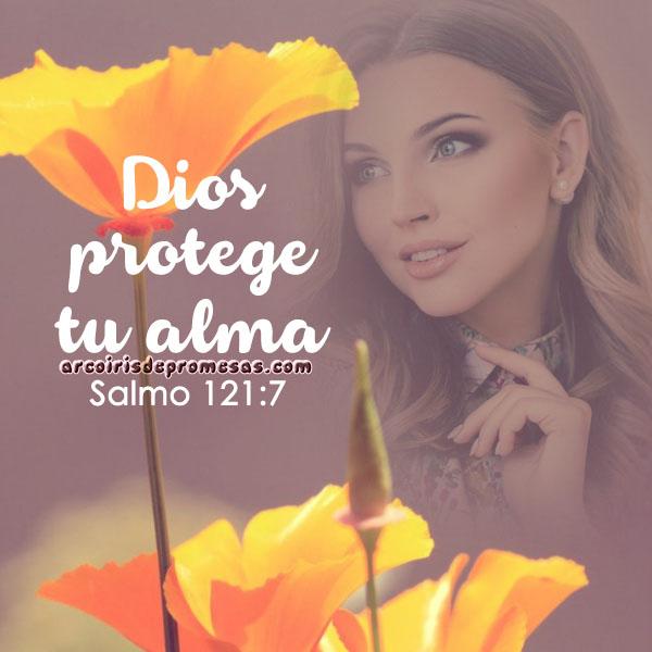 guardará tu alma devocionales cristianos con imágenes arcoiris de promesas