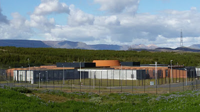 Исландия. Тюрьма. Iceland. Prison