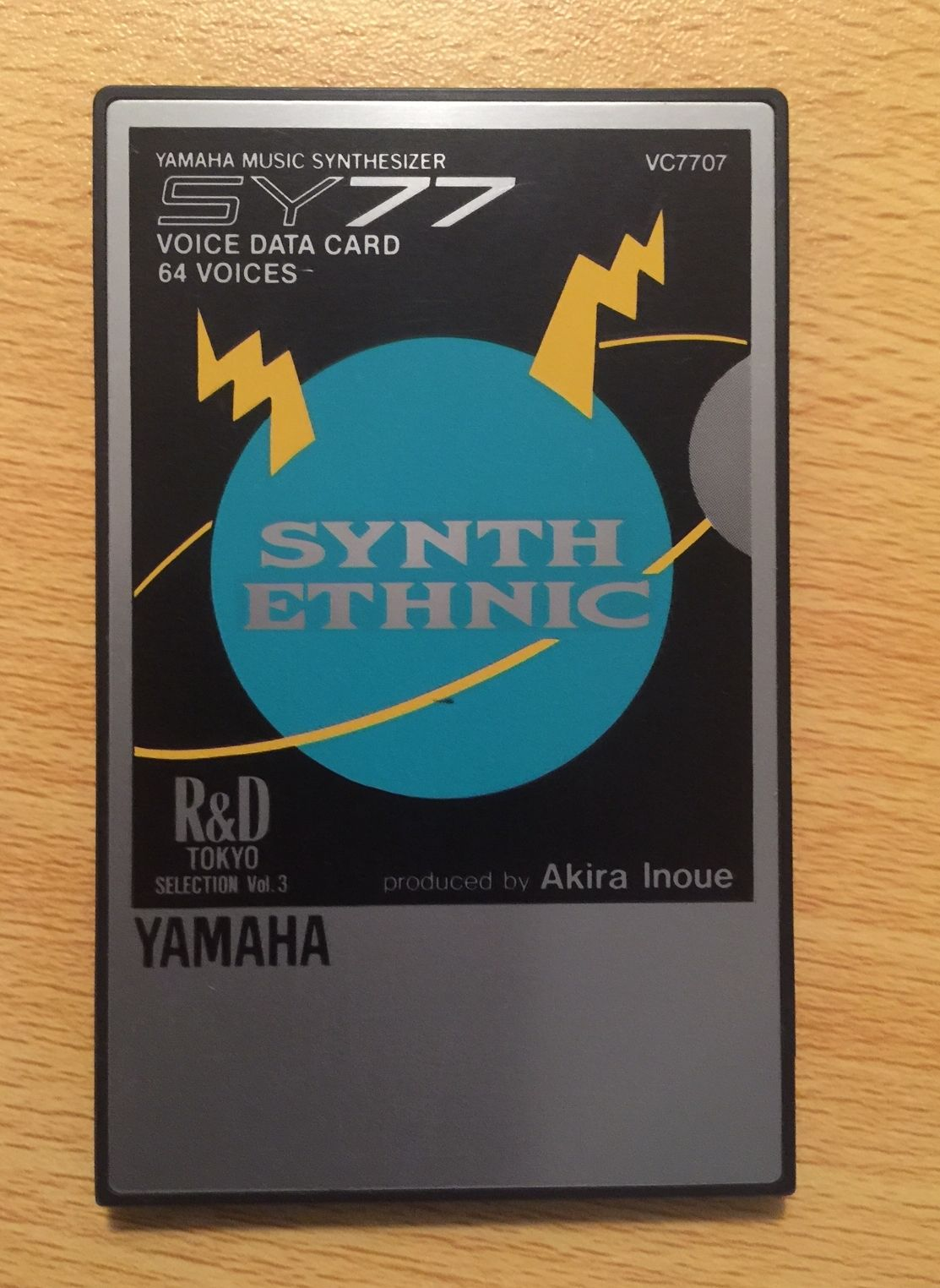 MATRIXSYNTH: Yamaha TG77 / SY77 Synth Ethnic Expansion Card