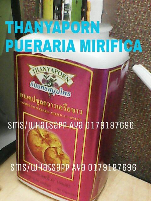 Thanyaporn Pueraria Mirifica Kapsul MURAH – Untuk Payudara Cantik Menawan!   KAPSUL THANYAPORN PUERARIA MIRIFICA (For Breast Enlargment) Kapsul Pueraria Mirifica Untuk Payudara Cantik Menawan! Thanyaporn produk membesar dan menegangkan payudara no. 1 di dunia dengan kadar keberkesanan 97% !  Content : 60 capsules. RM 35.00 Sebotol S/M RM 40.00 Sebotol S/S FREE POSLAJU Dijamin Paling Murah & Harga Berdiskaun Di Malaysia !!! Anda boleh Servey, Harga Pasaran Malaysia :Melebihi RM 80.00++ . PRODUK TERLARIS !!!! RAMAI JUGA YG TERKEJUT SEBAB KAMI JUALTERSANGAT MURAH, KAMI PEMBORONG, JADI HARGANYA JUGA HARGA BORONG…. kami jual produk original…