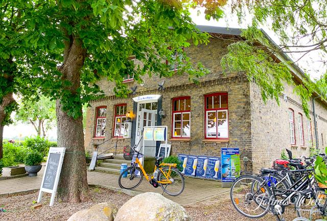 Außenansicht des Restaurant Fischerhaus am Schubystrand