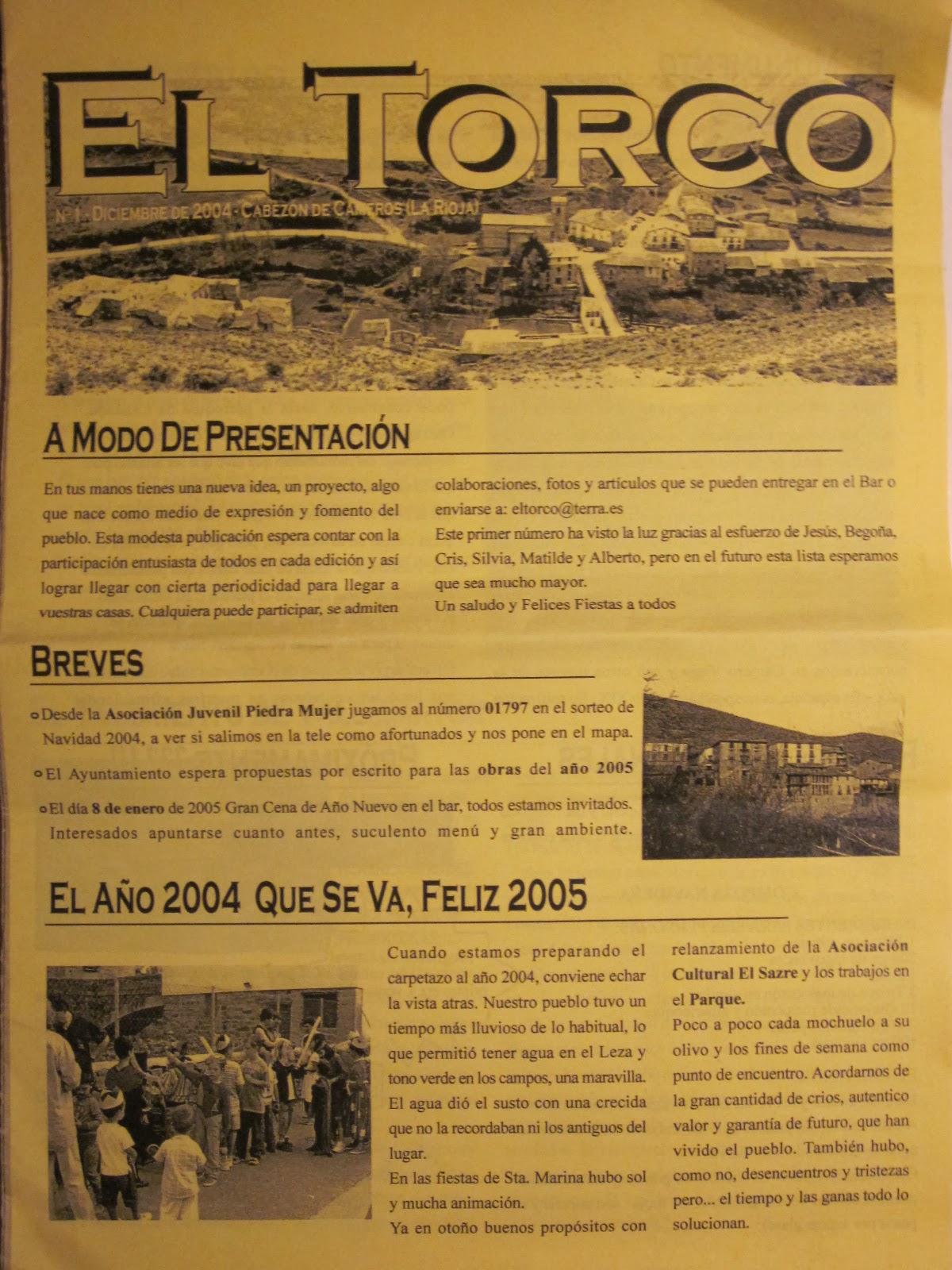 """""""El Torco"""" fue una iniciativa nacida en Cabezón de Cameros."""