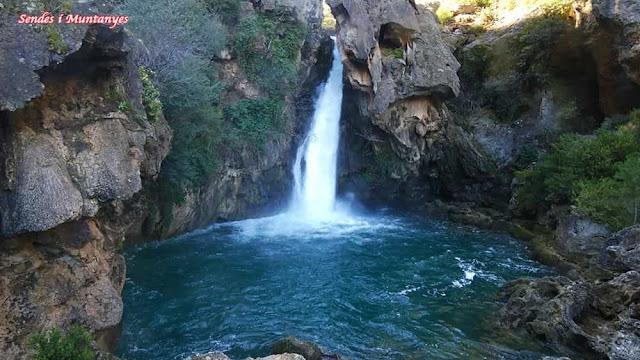 Cascada Calavera, Nacimiento río Borosa, Pontones, Sierra de Cazorla, Jaén, Andalucía
