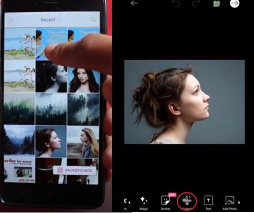 Cara Membuat Efek Double Exposure Dengan PicsArt