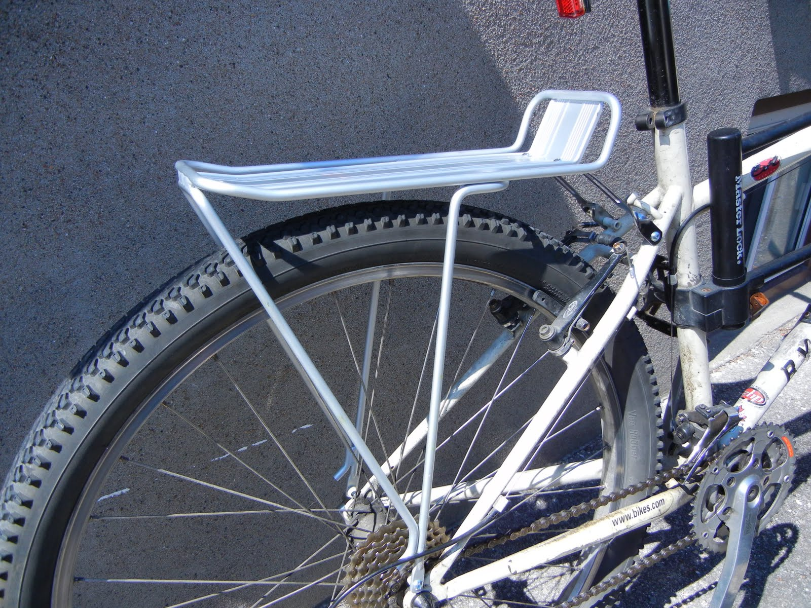 How To Install A Bicycle Cargo Rack