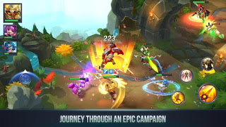 Dungeon Hunter Champions v1.0.15 Gameloft MOBA Apk for Android