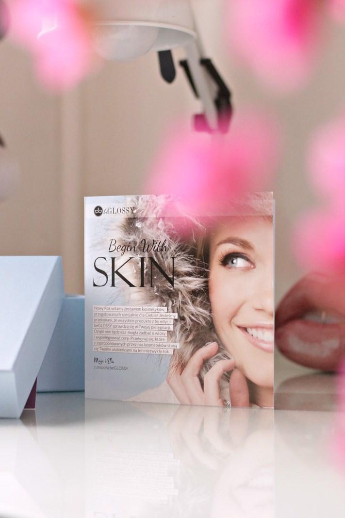 beGLOSSY Begin With Skin {przegląd pudełka styczeń 2018 + kod rabatowy}