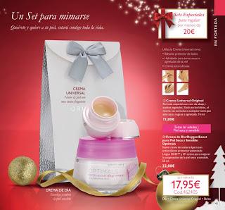 Crema de día para pieles sensibles y Crema Universal Original