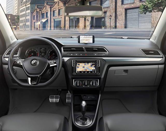 Novo VW Gol 2017 - painel