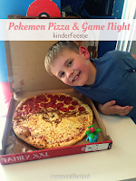 Pokemon Pizza & Game Night - kinderfeestje