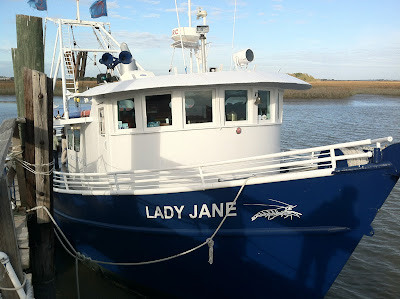 Lady Jane Shrimp Boat