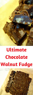 Ultimate Chocolate Walnut Fudge is a classic marshmallow fudge with chocolaty, nutty goodness!  A must-have on everyone's holiday treat list.  - Slice of Southern