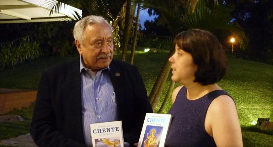 Vicente Vásquez Bonilla con Adriana Rodríguez