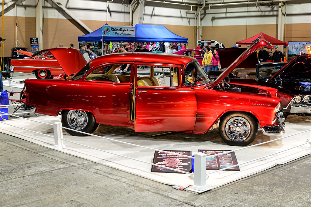 Joe and Vicki Sheehan's 1955 Chevy Sedan