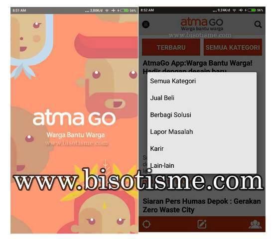 Aplikasi AtmaGo Android
