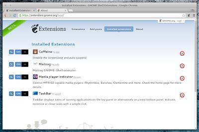 Google Chrome GNOME Extension Repository integration