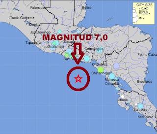 Alerta de Tsunami en el Salvador