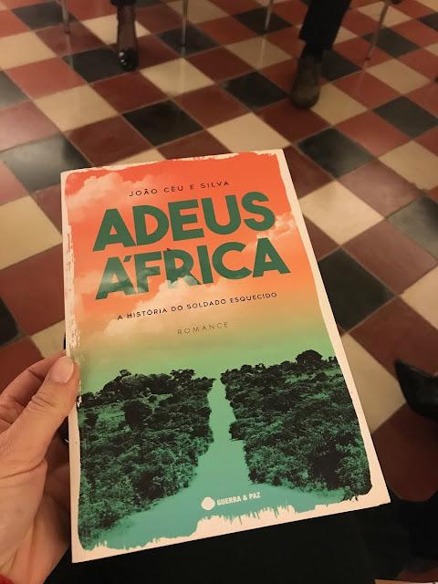 livro-Adeus-África-de João Céu e Silva
