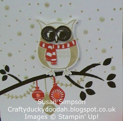 Stampin' Up! UK Independent Demonstrator Susan Simpson, Craftyduckydoodah!, Cozy Critters, Christmas Pines, Stitched with Cheer, Supplies available 24/7,