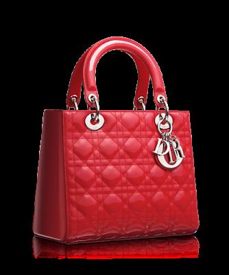 Tas branded merah original luar negeri