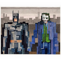 Batman and Joker  - Adam Lister