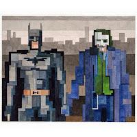 Batman and Joker  - Adam Lister