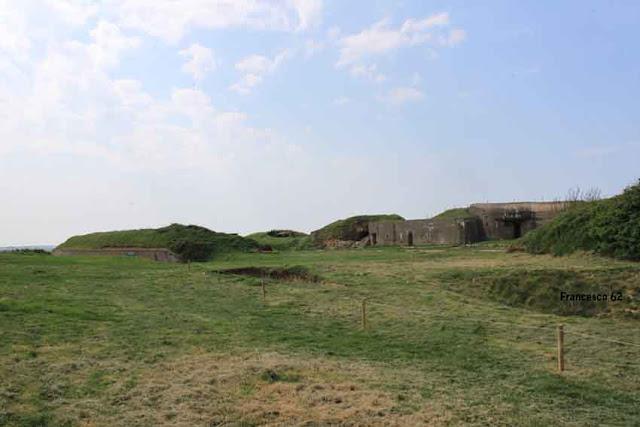 ensemble de bunkers Fort de la crèche