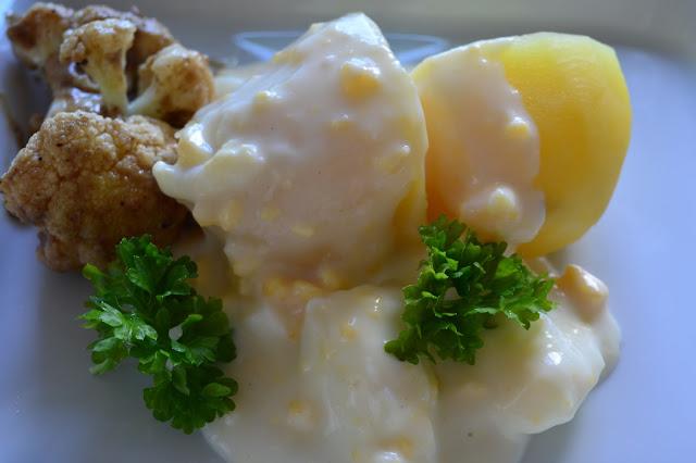 retroruoka, kasvisruoka, kananmunakastike, kastike, kasvisruoka, arkiruoka