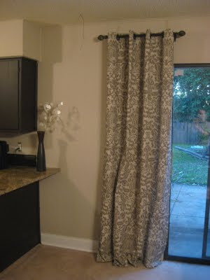Last But Not Least Stephanies Curtains From Frugal Home Ideas