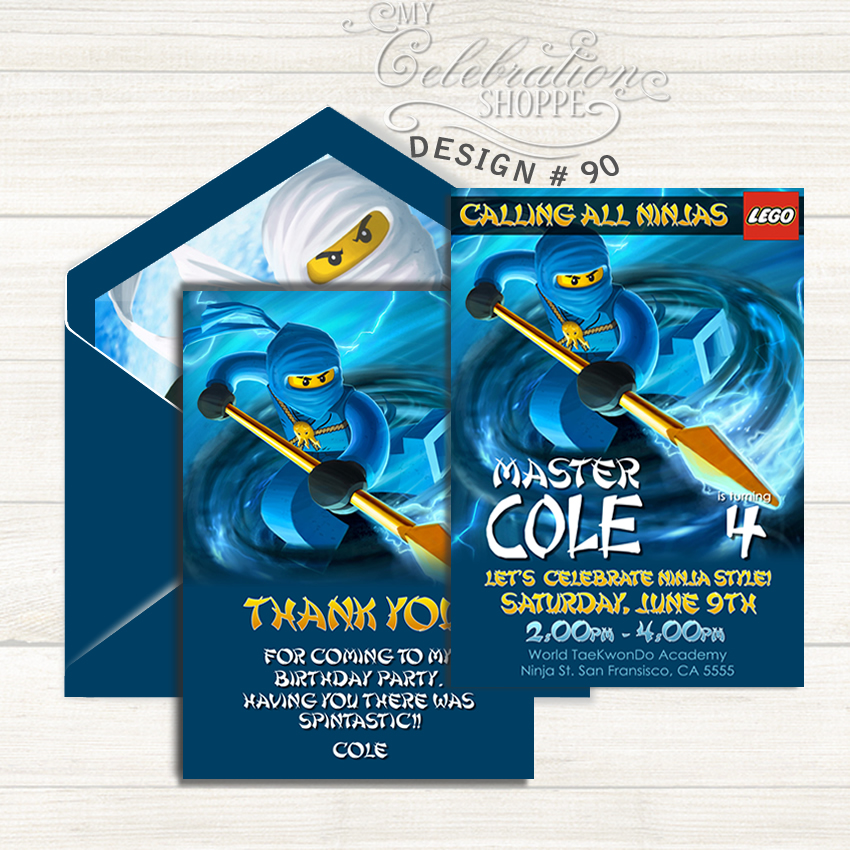 My celebration shoppe party printables these ninjago birthday invitation and thank you cards are sure to make your ninjago birthday party be in style you will find only the best ninjago birthday stopboris Images