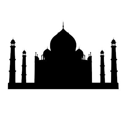 taj, mahal, silhouette, mughal, india, agra, indian, tower, religion, shadow, culture, beautiful