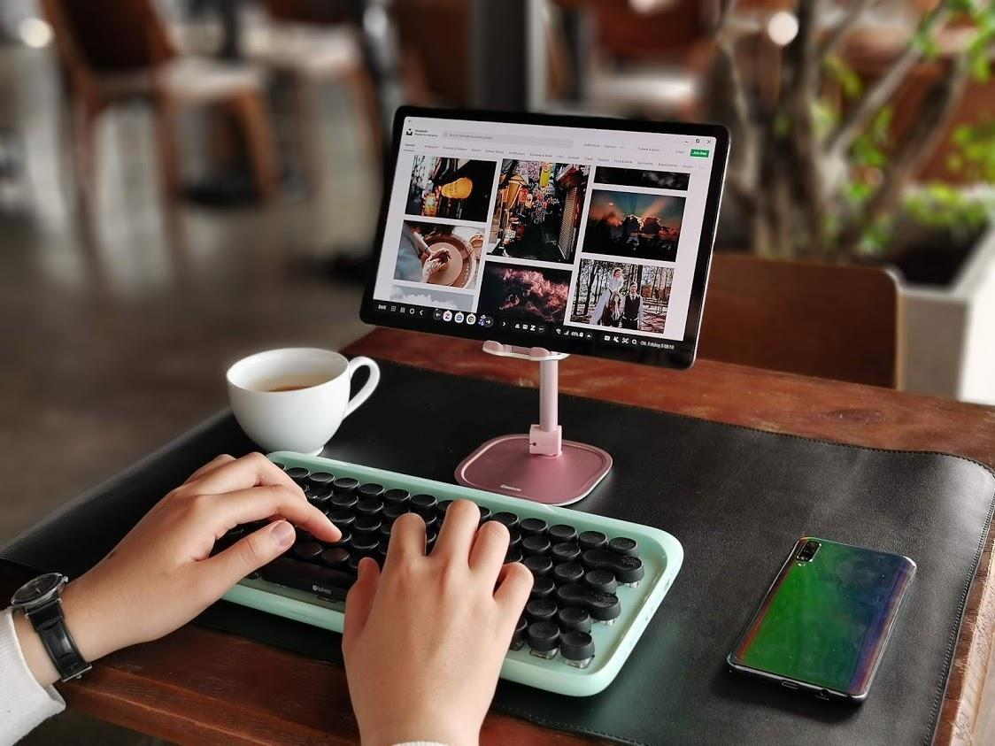 Trải nghiệm máy tính bảng chạy Android: Galaxy Tab S5e