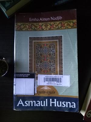 Cover Buku Asmaul Husna