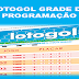 Programação da lotogol 1032 grade dos próximos 5 jogos
