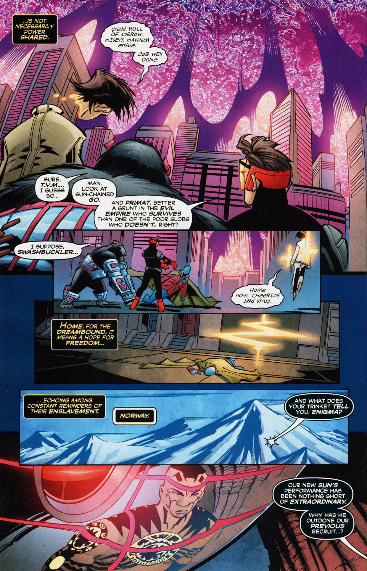 Read online Trinity (2008) comic -  Issue #36 - 20