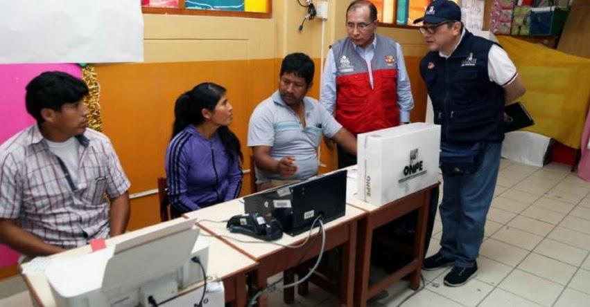 ELECCIONES 2018: Voto electrónico se aplicará a mayor escala en comicios regionales y ediles del próximo año - www.onpe.gob.pe